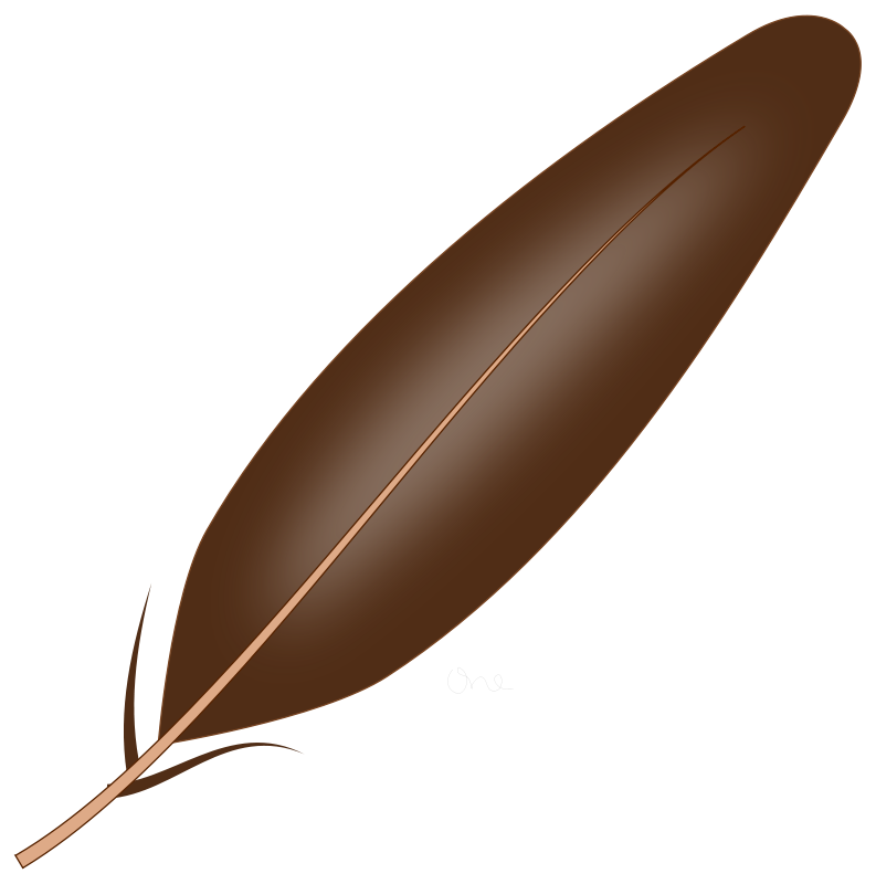 Free Clipart: Njiwa Feather.