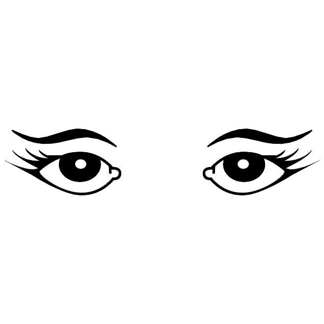 Monster Eyes Clipart.