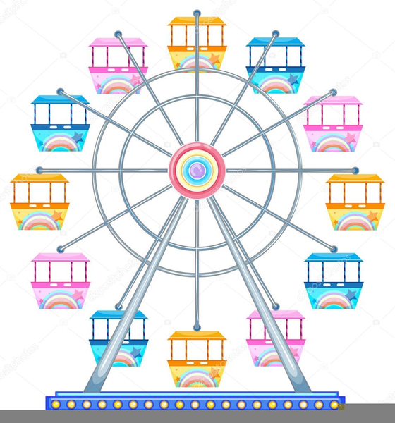 Download Free png Free Ferris Wheel Clipart.