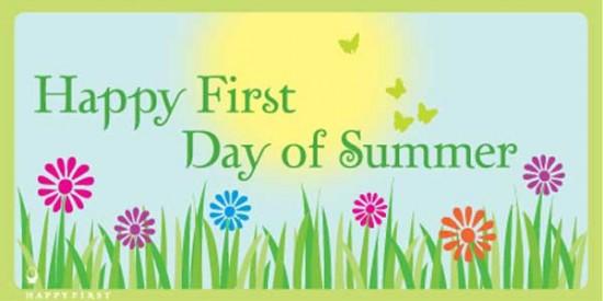 Happy Summer Free Clip Art.