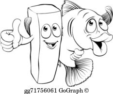 Fish And Chip Clip Art.