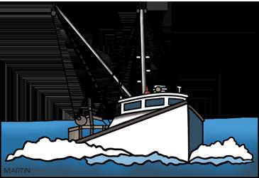 Boating clipart fishing boat, Boating fishing boat.