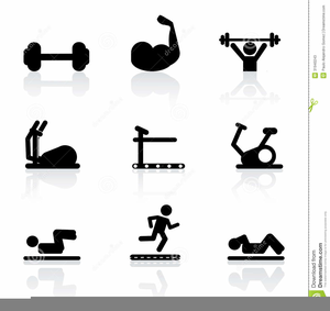 Free Clipart Fitness Exercise.