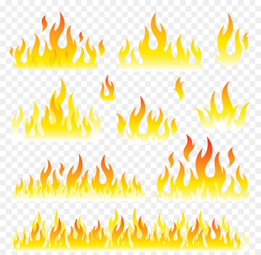 Flame Cartoon clipart.