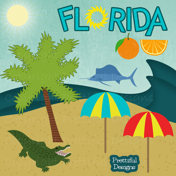 Florida clip art borders free clipart images 5.