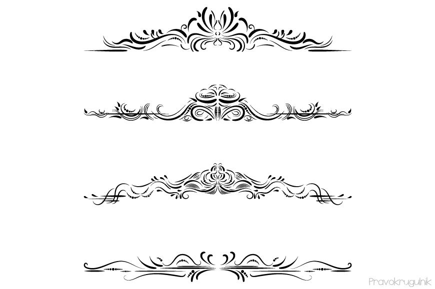Free Clipart Flourishes And Swirls (88+ images in Collection) Page 2.