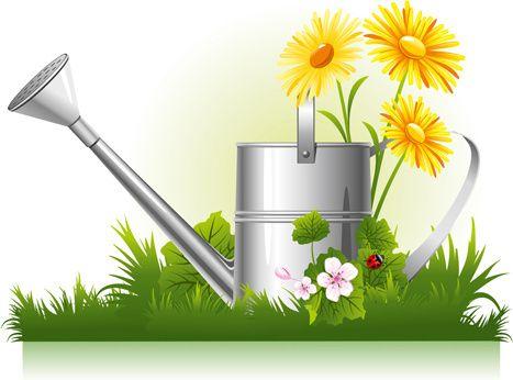 Vector flower garden clipart free vector download (12,205.