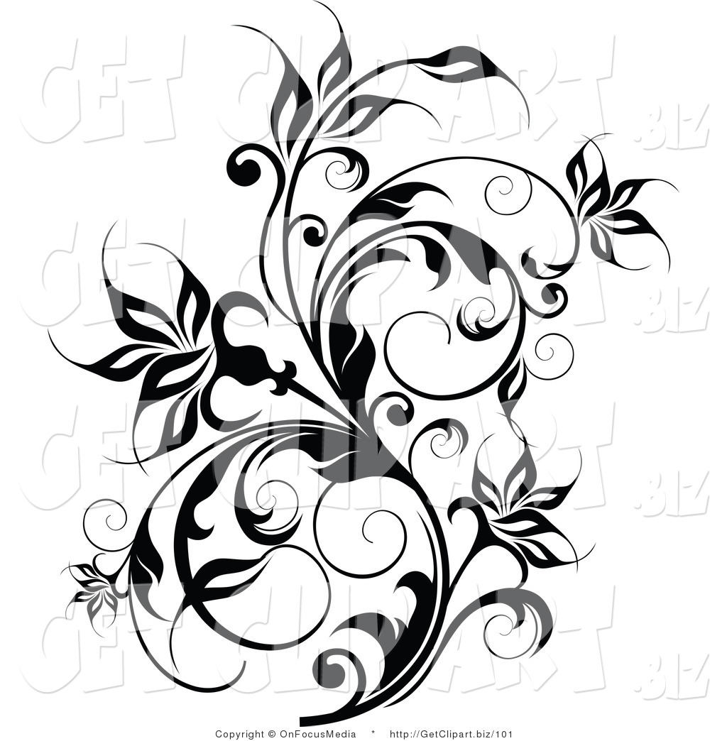 Free Clipart Flowers And Vines.