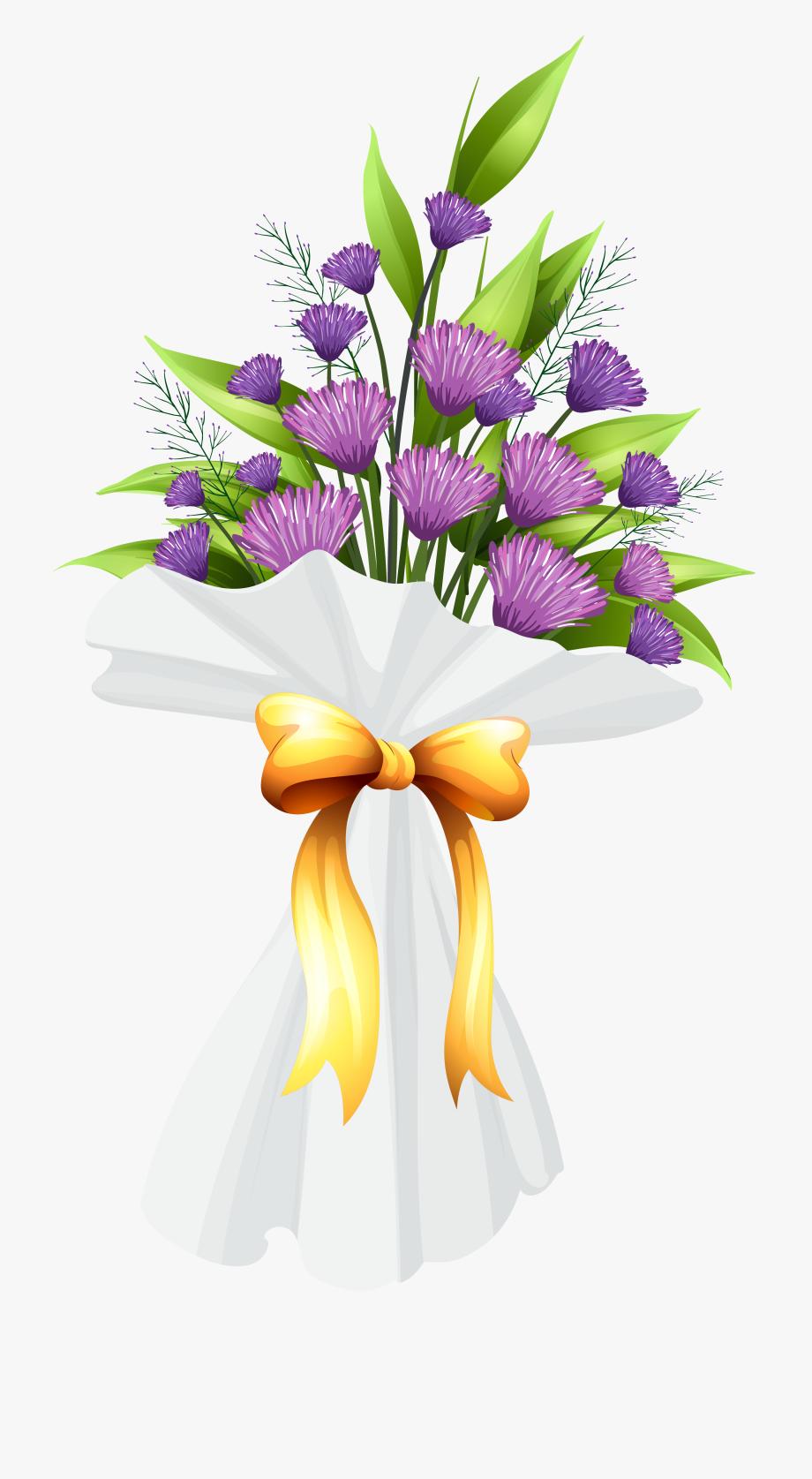 Sympathy Clipart Flower Bunch.