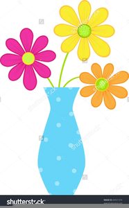 Free Clipart Of Flowers In Vases.
