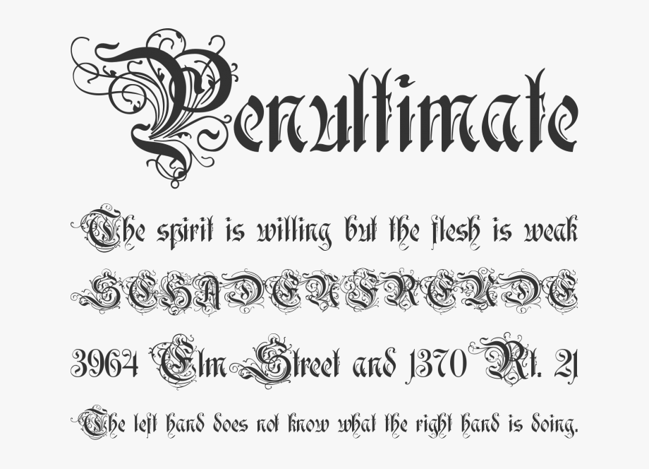 Free Font Rothenburg Decorative By Alex Winterbottom.