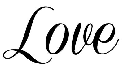 Love In Cursive.