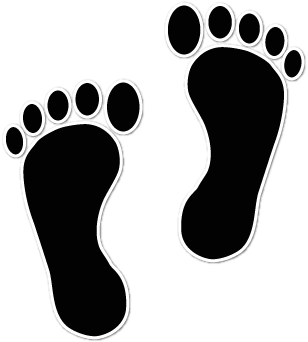 Free Foot Print Images, Download Free Clip Art, Free Clip.