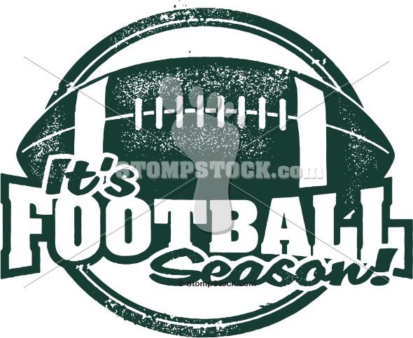 It's Football Season Clip Art.