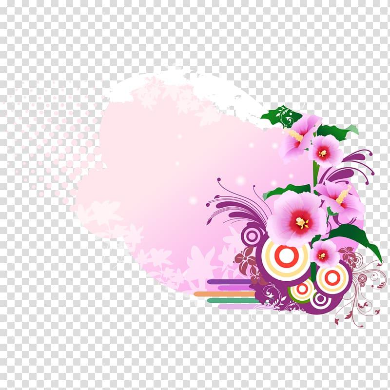 Adobe Illustrator Textile Flower, free pick flowers transparent.