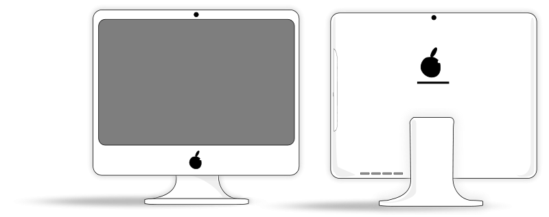 Free Clipart: IMac.