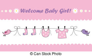 Baby Girl Baby Shower On Clip Art Monkey Baby, Baby Girl Free.