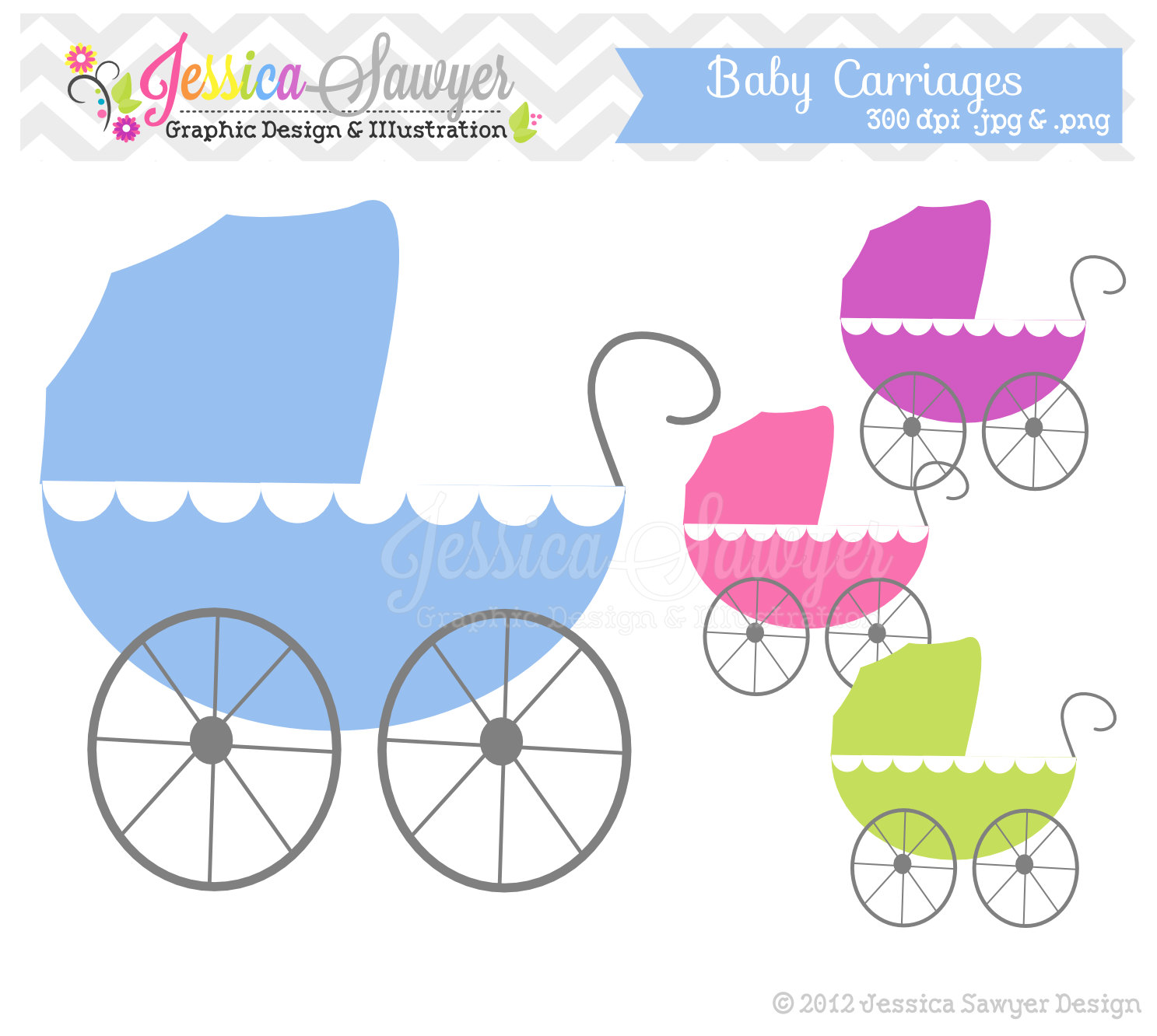 Baby Shower Clipart For Invitations.