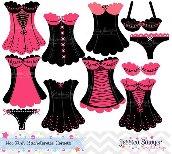 Bachelorette Clipart, Bachelorette Party Free Clipart.