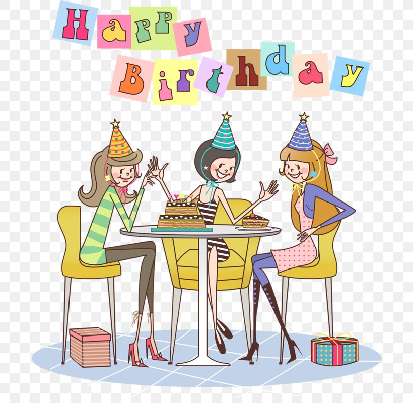 Birthday Cake Happy Birthday To You Party Clip Art, PNG.