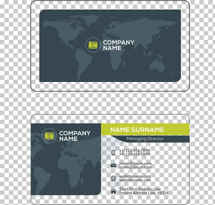 Business card Visiting card, Business cards, company name.