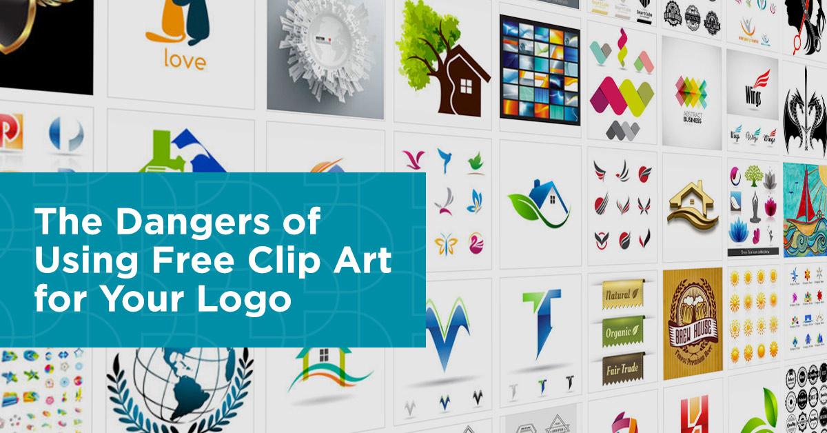 The dangers of DIY logo design & using free clip art.