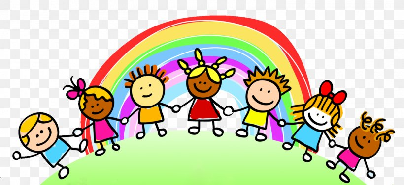 Child Care Rainbow Clip Art, PNG, 1500x691px, Child, Area.