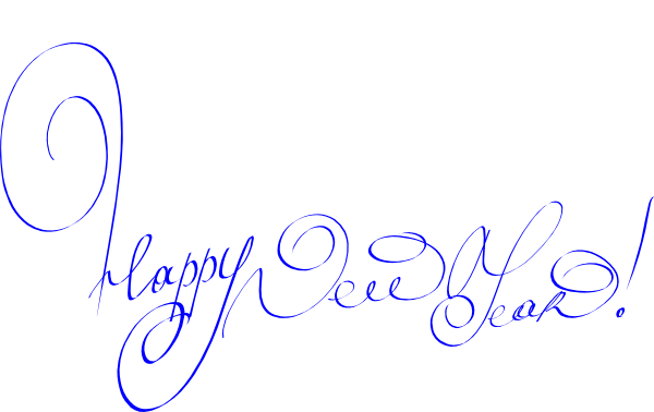 New year 2016 christian free clipart.