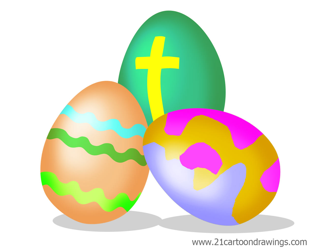 Church Easter Egg Hunt Clipart Religious.
