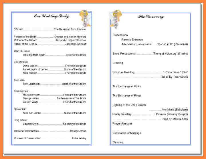 free church program template downloads.