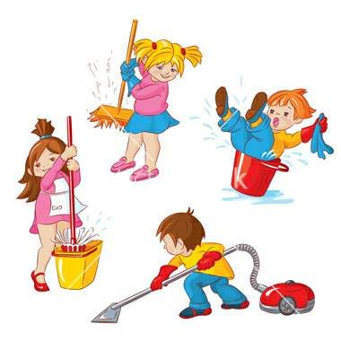 Free Clipart For Cleaning Up Classroom.