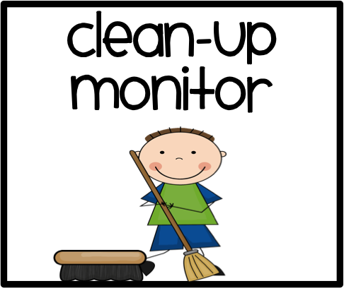 free clipart for cleaning up classroom - Clipground
