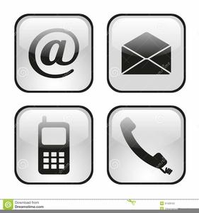 Phone Clipart Email Signature.