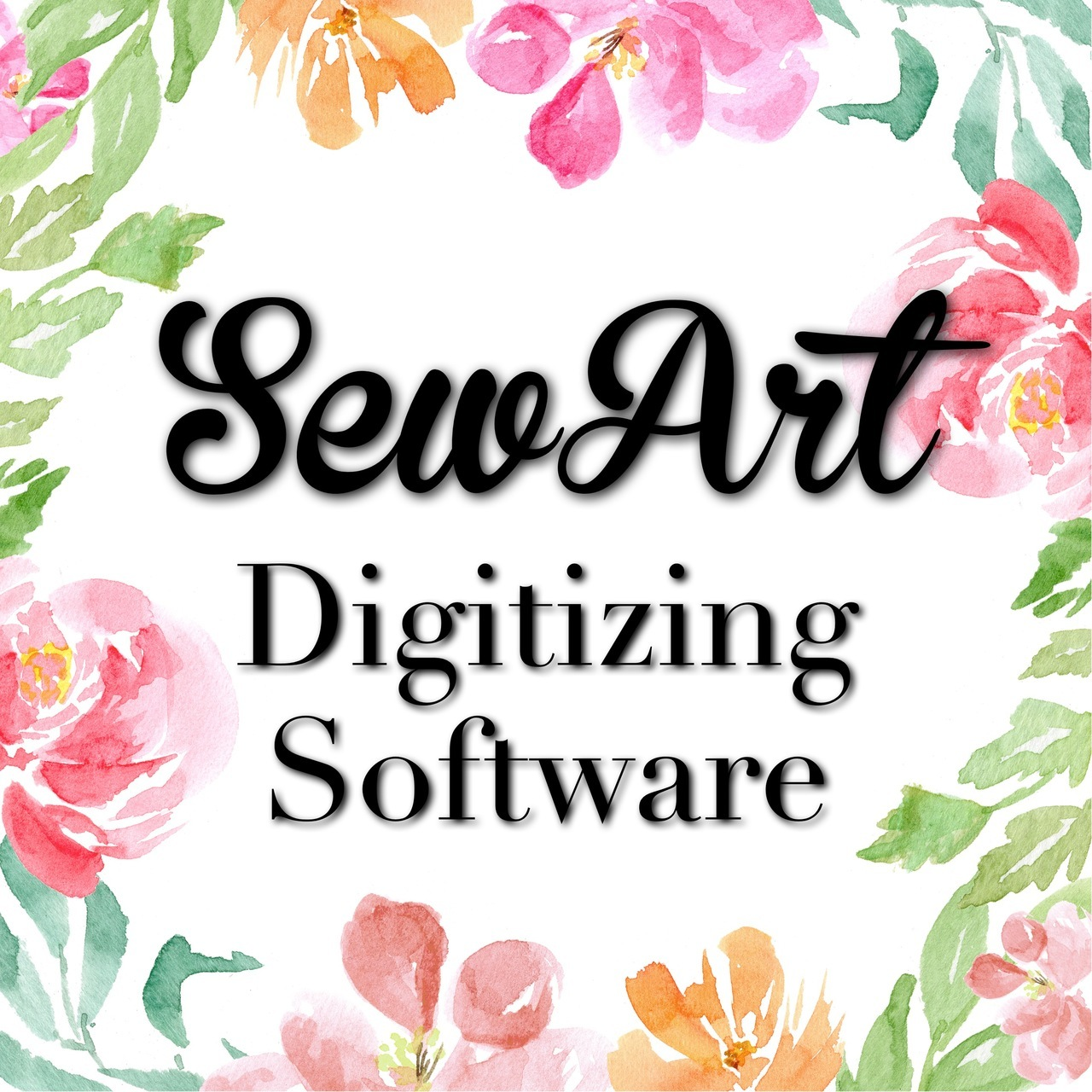SewART Digitizer Embroidery Software.