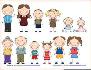 Free Clipart Family Members.