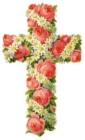 Amber Rose Fashion: happy easter cross clipart.