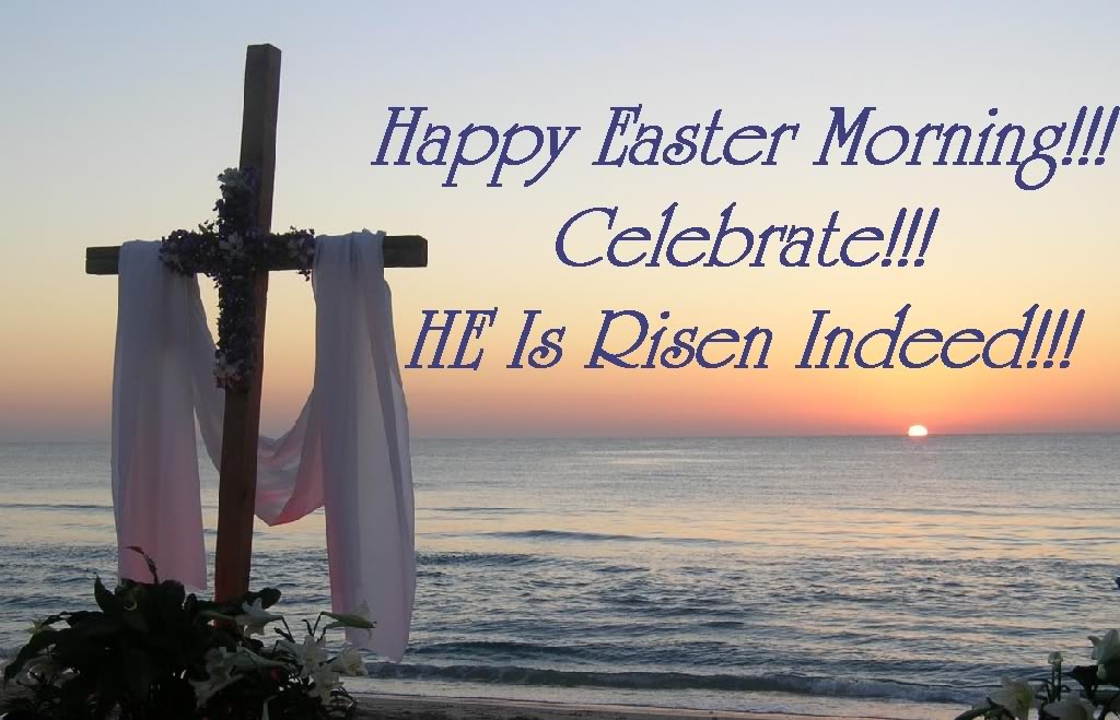 Free Clipart For Happy Easter With A Cross Clipground