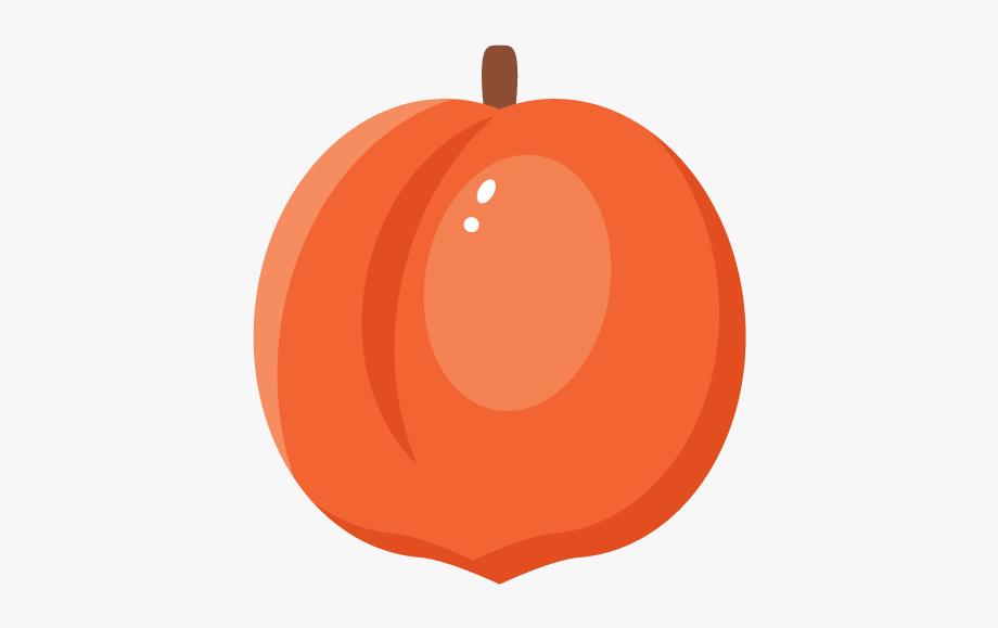 Jpg Transparent Download Peaches Clipart Stem.