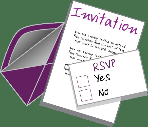 Free clipart invitations 3 » Clipart Portal.