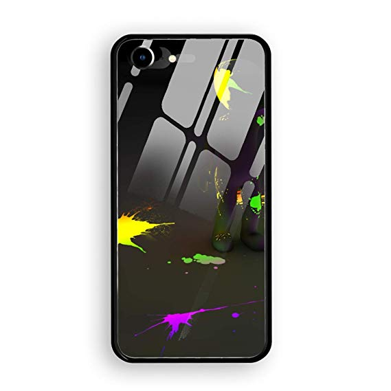Amazon.com: Clipart Person Paint Stains Neon Printed iPhone.