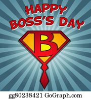 National Boss Day Clip Art.