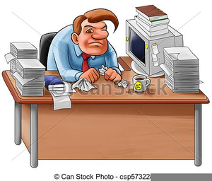 Free Clipart Office Worker.
