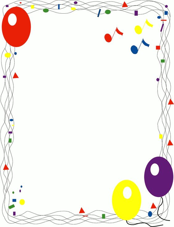 Birthday Baloons Clipart For Openoffice.