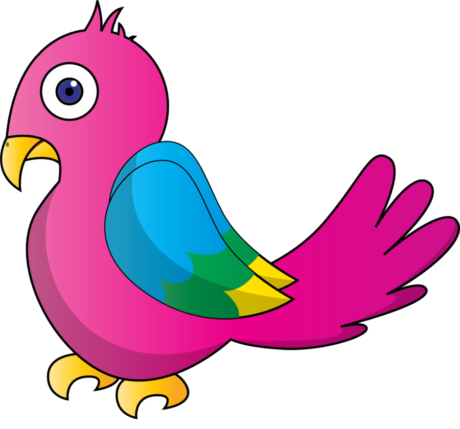 Bird Parrot Clipart At Free For Personal Use Transparent Png.