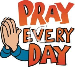 Children Praying Hands Clipart.