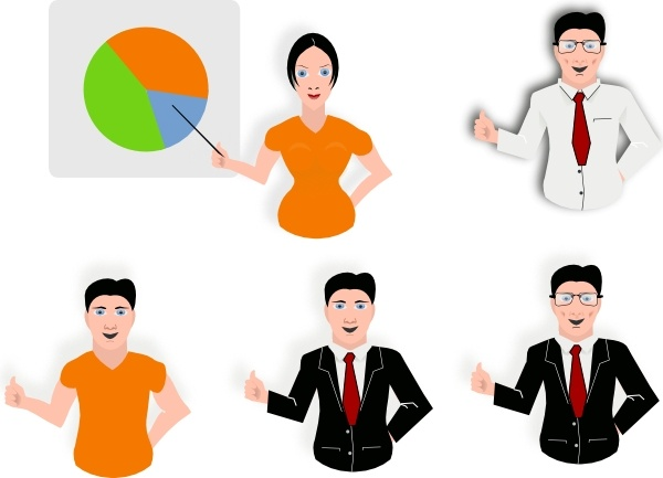Presentation clip art Free vector in Open office drawing svg.
