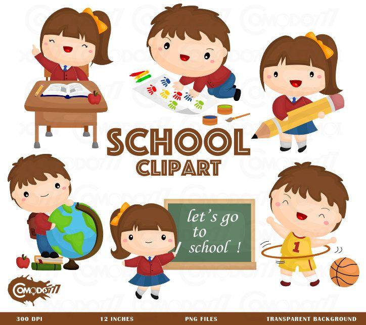 School Activity Clipart.
