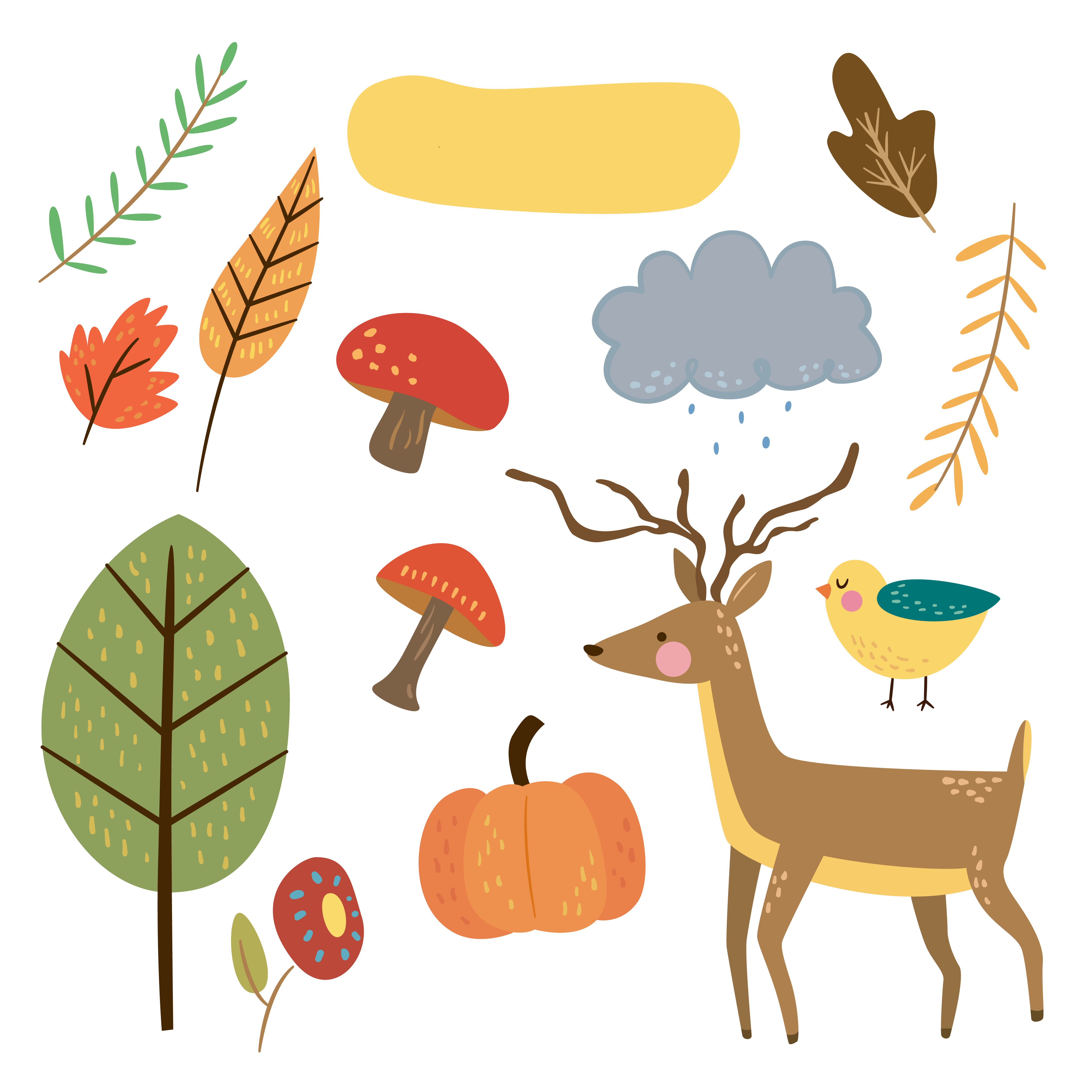 Fall clipart sticker, Fall sticker Transparent FREE for.
