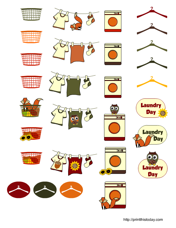 Free Clipart For Planner Stickers.