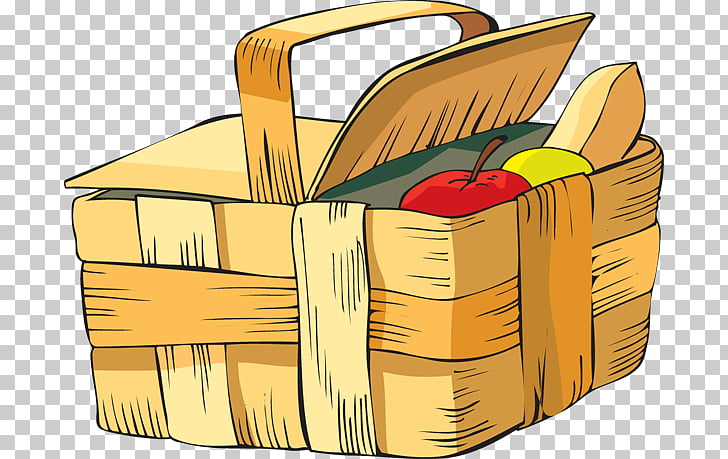 Picnic Baskets , Summer Picnic s PNG clipart.